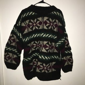 Oversized 100% Wool Sweater